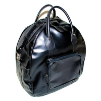 日本進口護具袋(黑色合成皮革-半圓型)